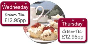 Cream Tea Offer